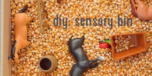 corn sensory bin title copy